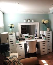 Turquoise Vanity Table Furniture Home Makeup Table Vanity Modern Elegant 2017 Makeup