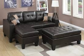 Fabric Sectional Sofas With Chaise Sectional Sofa With Oversized Ottoman Fraufleur Com