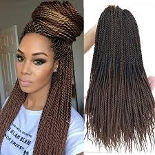 hair crochet flyteng 18 inch 8 packs senegalese twist crochet braids hair