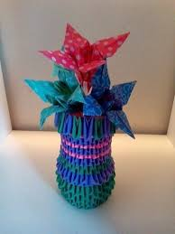 3d Origami Flower Vase Tutorial 12 Best 3d Origami Diy Images On Pinterest Modular Origami