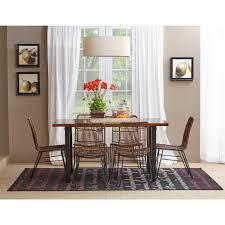 Rattan Dining Room Sets Jofran 1604 425kd Urban Dweller Wire U0026 Rattan Dining Chair Set Of 2