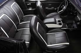 Tmi Interior 1967 Camaro Sport Seat Covers Set Tmi Front Buckets Deluxe