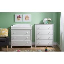 south shore cotton candy changing table south shore cotton candy changing table with 4 drawer chest