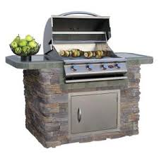 outdoor kitchen island kits 28 images 6 ft island kit outdoor kitchen kits outdoor kitchen cal flame 7 ft cultured stone bbq island with 4 burner grill in