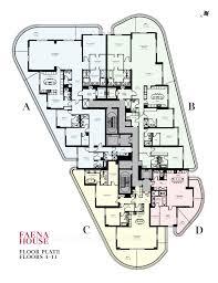 1 house floor plans faena house floor plans
