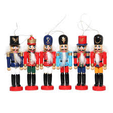 aliexpress com buy 6pcs nutcracker puppet zakka creative desktop