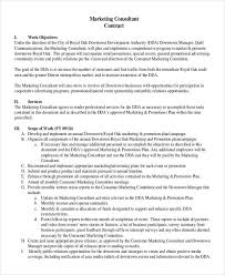 advertising contract template employment contract template 15