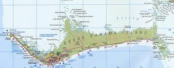 grand map map of freeport grand bahama island bahamas includes lucaya