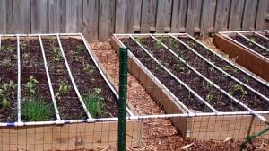 square foot garden layout ideas self watering square foot garden diy youtube
