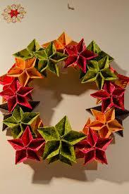 origami christmas wreath by becks random pinterest origami