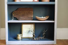 Nautical Bookcase Bookcase Transformation Painting And Styling To Create A Cohesive