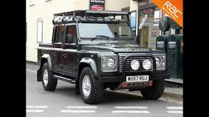 land rover defender 110 convertible land rover defender xs 110 double cab richtoy youtube