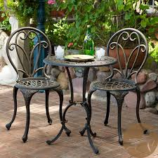 White Metal Patio Chairs Best Paint For Cast Aluminum Patio Furniture Patio Furniture