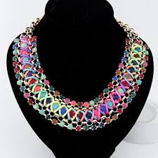 big crystal statement necklace images Big crystal statement necklace zarinz jpg