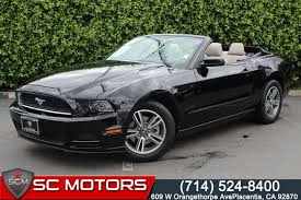 ford mustang 2013 price used 2013 ford mustang v6 premium in placentia