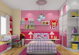 interior design girls bedroom pink 3d image download 3d house