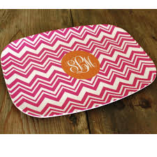 monogrammed platters zig zag monogrammed platter for the hostess monogrammed