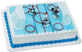 hockey cake toppers hockey canada cake topper by decopac cake decorating supplies