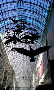 17 best images about where i live toronto on pinterest canada canada geese in flight art inside eaton center toronto