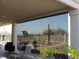 exterior rolling screens retractable deck u0026 patio awnings sunair