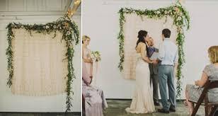 wedding backdrop garland 10 creative wedding backdrops part ii simply peachy event