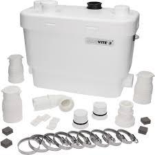 Sanivite Kitchen And Utility Macerator Pump - Kitchen sink macerator