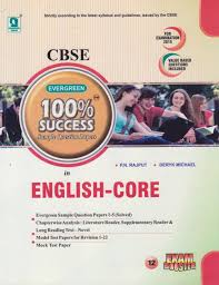 evergreen 100 sample question papers in english for class 12