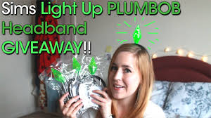 plumbob headband sims light up plumbob headband giveaway closed rachybop