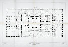 floorplan of the hotel waldorf astoria new york p4 rzut