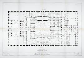floorplan of the hotel waldorf astoria new york p4 rzut