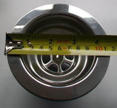 McAlpine Kitchen Sink Stainless Steel Basket Strainer Waste - Kitchen sink waste strainer