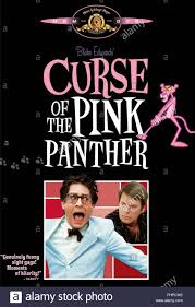 the pink panther ted wass u0026 robert wagner curse of the pink panther 1983 stock