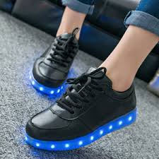 led light up shoes for adults amazon com helen s pinkmartini 7 colors led light up shoes black
