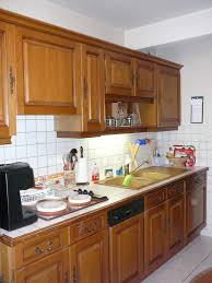 renover sa cuisine en chene relooker cuisine chene massif beautiful ordinaire meubles salle a