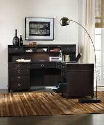 L Shaped Computer Desks With Hutch by Hooker Furniture Home Office Kendrick L Shaped Group