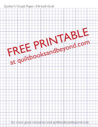 free printable resource quilter u0027s graph paper with 1 4 inch grid