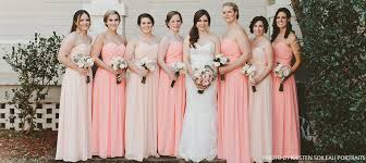 pink bridesmaid dresses pink bridesmaid dresses blush bridesmaid gowns at