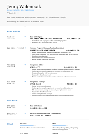 Resume For Real Estate Job by Commercial Real Estate Portfolio Manager Resume Sample Before 1