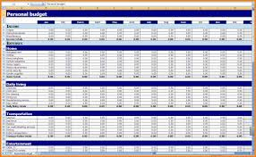 Sample Home Budget Spreadsheet 6 Monthly Budget Excel Spreadsheet Template Budget Template