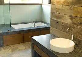 Barnwood Bathroom Photo 13137 Gray Smooth Barnwood Bathroom