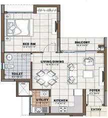 1bhk floor plan 722 sq ft 1 bhk floor plan image prestige group tranquility