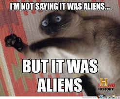 Cat Alien Meme - cat and aliens by vitor1993 meme center