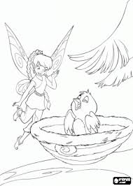 tinkerbell u0026 friends coloring pages terrance