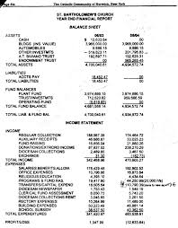 End Of Year Balance Sheet Template Balance Sheets