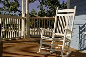 rocking chair on porch stock image image of travel preserve