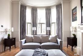 Drapes For Bay Window Pictures Terrific Curtains For Square Windows With Bay Window Curtain Poles