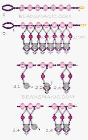necklace making patterns images Free pattern for necklace mariposa free pattern beads and patterns jpg