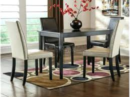 tiburon 5 pc dining table set 5 pc dining table set ivory and brown chairs 5 piece dining
