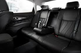 infiniti q70l vs lexus ls 2015 infiniti q70l rear seat view 716 cars performance reviews