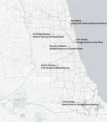 Bucktown Chicago Map by Annual Battle Against Potholes Begins In Earnest Map South